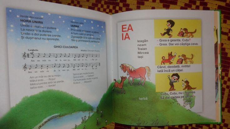 Albinuta abecedar pentru prescolari cu ilustratii 104pag/an 2013- Grigore Vieru - Carte educativa - Okazii