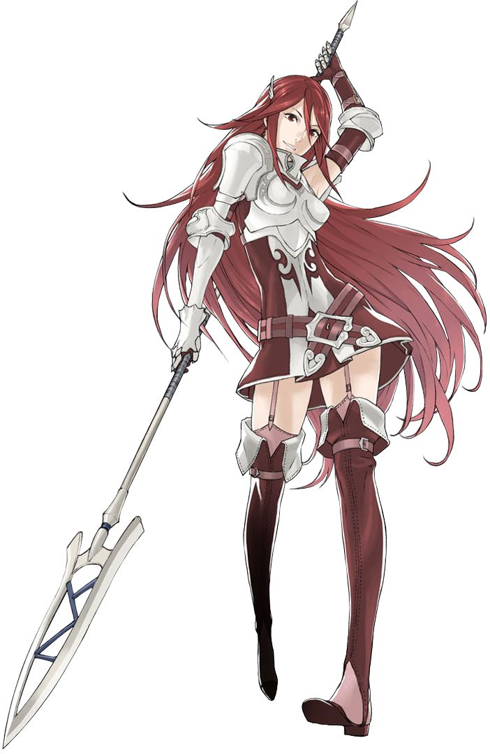 Tiamo  - Fire Emblem Awakening  i wonder why her name is Cordelia in English.