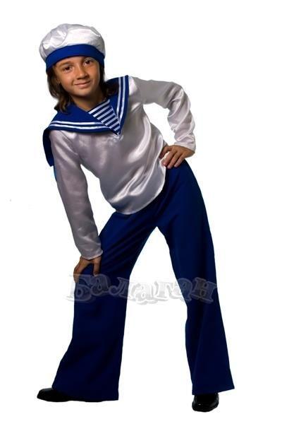 Дитячий костюм моряка фото