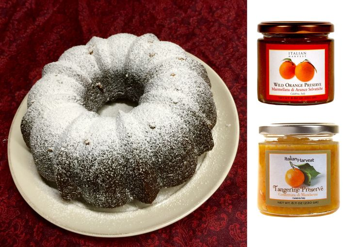 Holiday gingerbread cake with our Calabrian wild orange preserve baked in. The strong flavors of the gingerbread and sharp, citrusy pieces of wild orange are perfect compliments. You can also use the tangerine preserve if you prefer. Either are terrific. https://www.facebook.com/ItalianHarvest/photos/a.499444470103026.1073741825.338473652866776/949771565070312/?type=3&theater