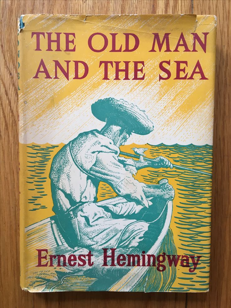 Best Illustrated Book Covers : Best hemingway the old man and sea illustrated