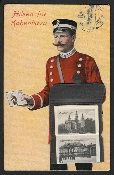 1922 De røde postbude