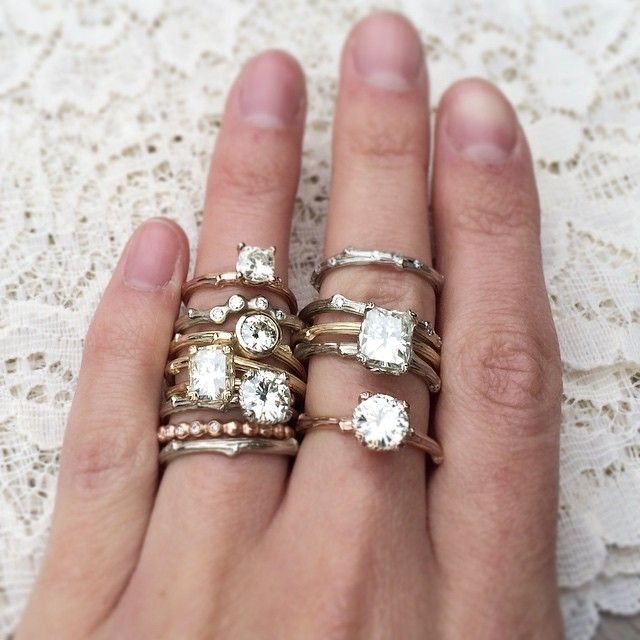 17 best images about rings on horns vintage