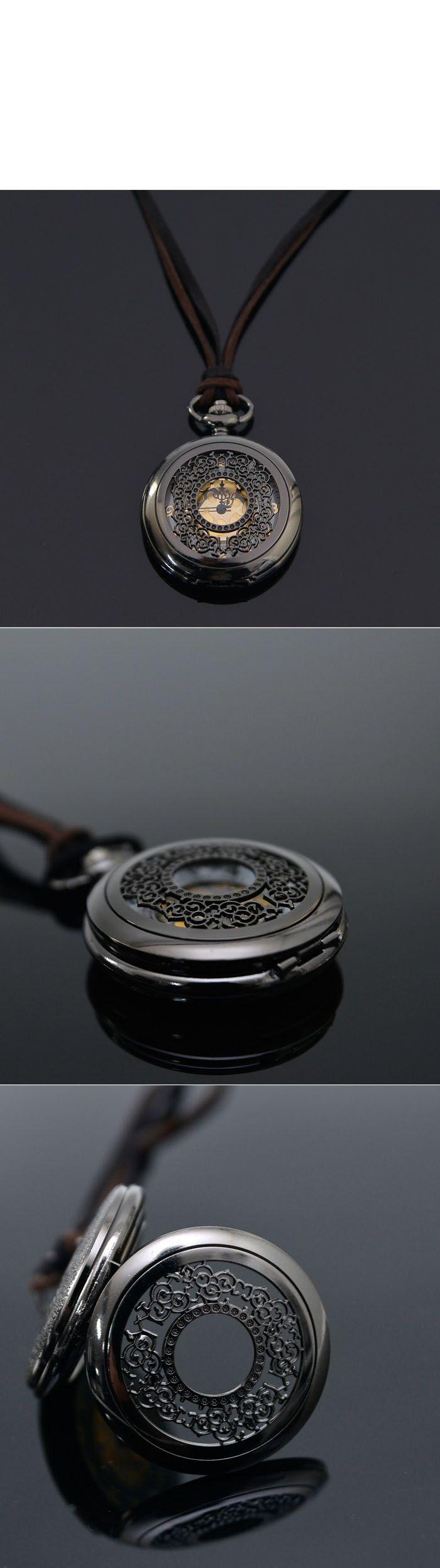 Accessories :: Necklaces :: Romantic Long Locket Watchnecklace 183  Mens  Fashion