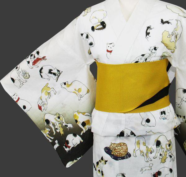 京都きもの彩 kimono - cats