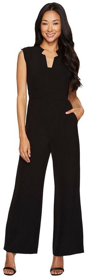 Tahari by Arthur S. Levine Petite Jumpsuit with Pockets