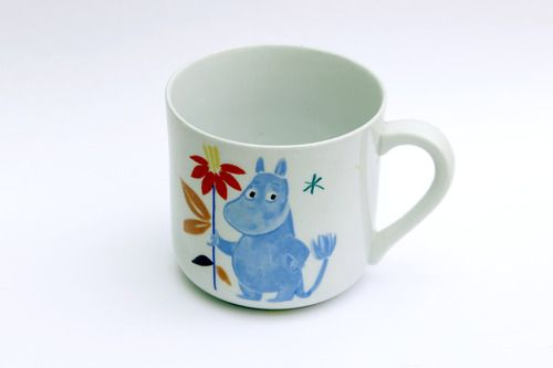 The original 1950s Moomin mug
