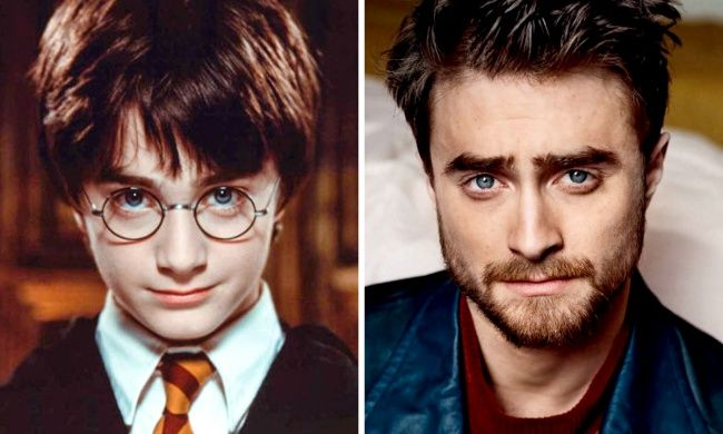 Afascinating look atthe stars ofHarry Potter 14years later