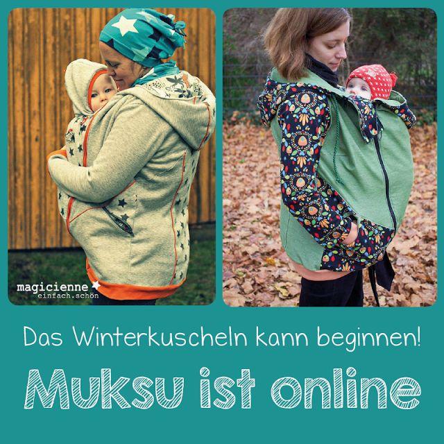 Näähglück by Sophie Kääriäinen: Muksu ist endlich online!