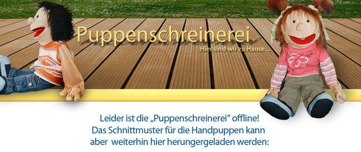 Klappmaulpuppe (free) trotz offline der Website ist das Schnittmuster immer noch zum Download verfügbar