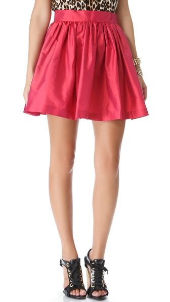 the ultimate party skirt {via Shopbop}