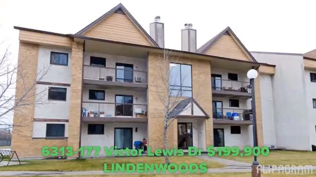 Goodfellow & Goodfellow & Lind Real Estate Ltd.  6312-177 Victor Lewis Drive  $199,900