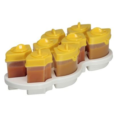 Best Baby Food Freezer Tray Storage Containers On Amazon Reviews  sc 1 st  omniboo.com & Best Containers To Freeze Homemade Baby Food Amazoncom Best Homemade ...