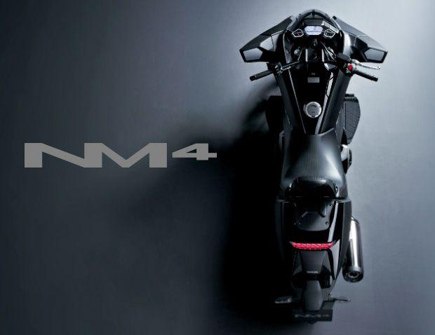 ホンダから近未来デザインの大型バイク NM4-01、25色のメーターパネルと低いコクピットポジション - Engadget Japanese