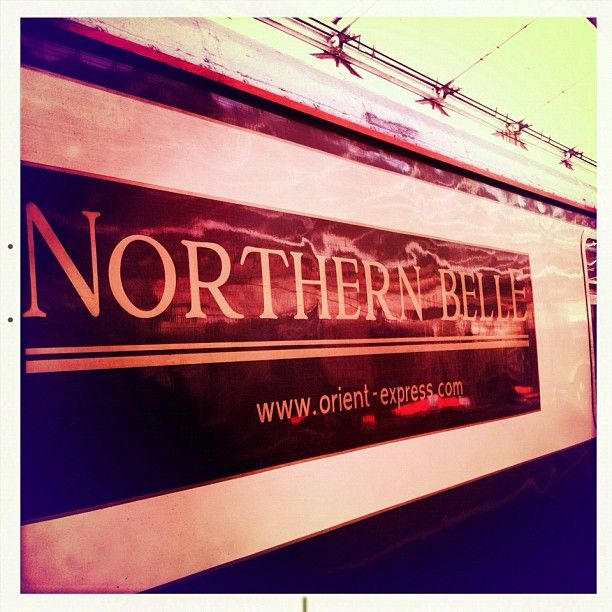 Take me to off to somewhere exciting - Northern Belle at Crewe station