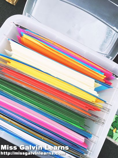 Teacher Tip Tuesday: Organise Your Coloured Paper in the classroom!