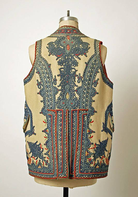 Vest    Date:      1780  Culture:      European, Eastern  Medium:      wool  Dimensions:      [no dimensions available]  Credit Line:      Gift of Mr. Lee Simonson, 1939  Accession Number:      C.I.39.13.11