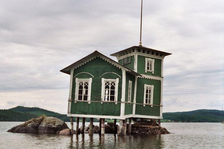 Stavre Badhus, Jämtland, Sweden.