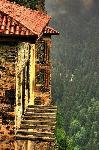 Sumela Monastery, Trabzon, Turkey.