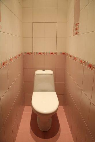 Дизайн туалета маленького размера - 37 фото