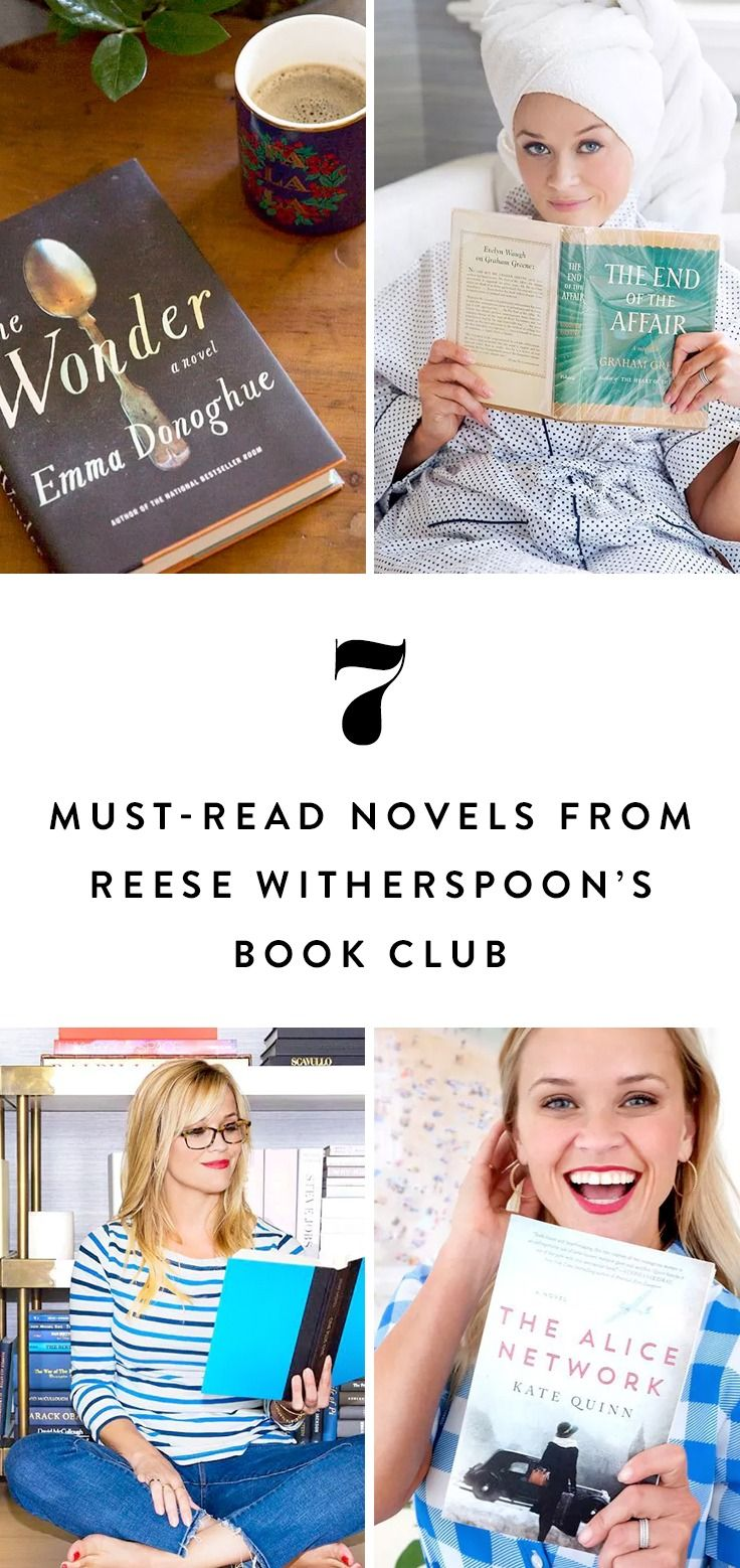 If you're considering joining Reese's book club (or simply searching for a celeb-approved suggestion), check out these 7 books from Reese Witherspoon's reading list.
