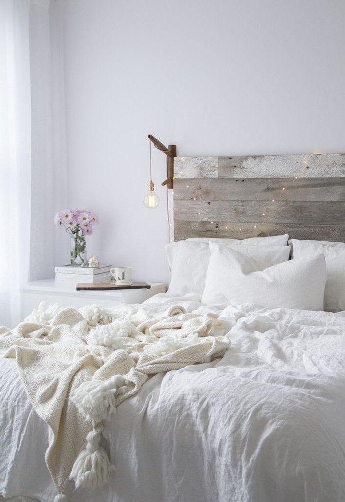 1001 Idees Pour Fabriquer Une Tete De Lit En Bois Originale Comment Fabriquer Une Tete De Lit Deco Chambre Cocooning Idee De Decoration