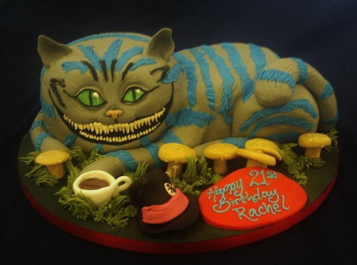 cheshire cat cake