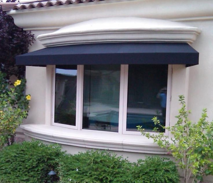 Awnings Perfect For Bay Windows Custom Awnings In 2019