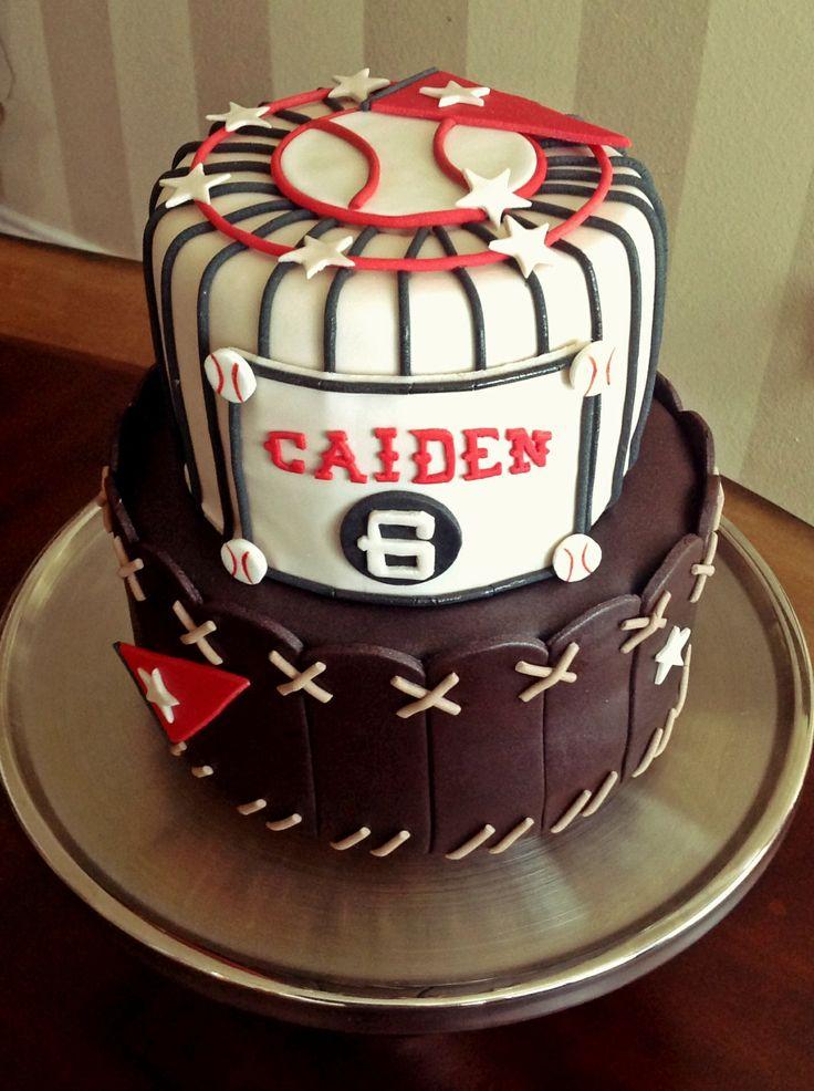 Too Sweeties Bake Shoppe Vintage Baseball Cake