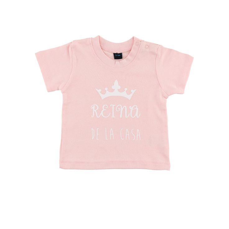 Camiseta Diseño Reina de casa (3-6 meses) de ewikka en Etsy