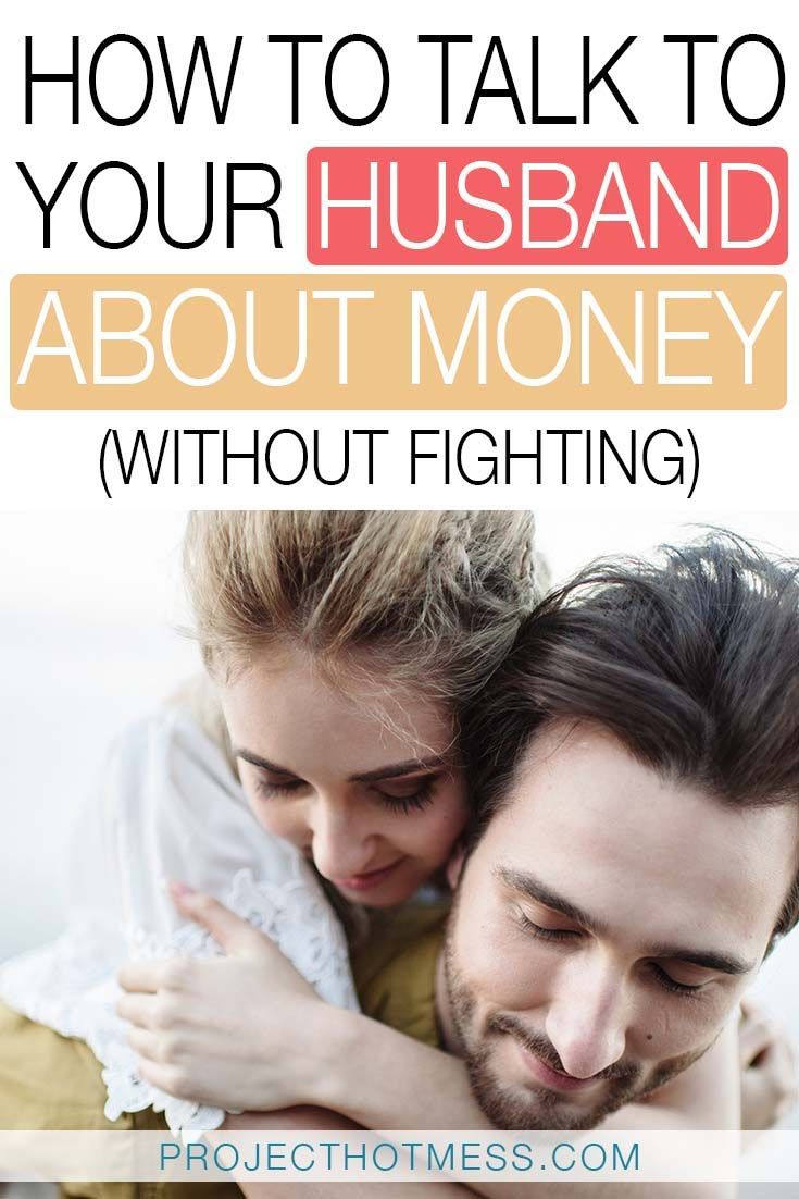 How to talk to husband without fighting