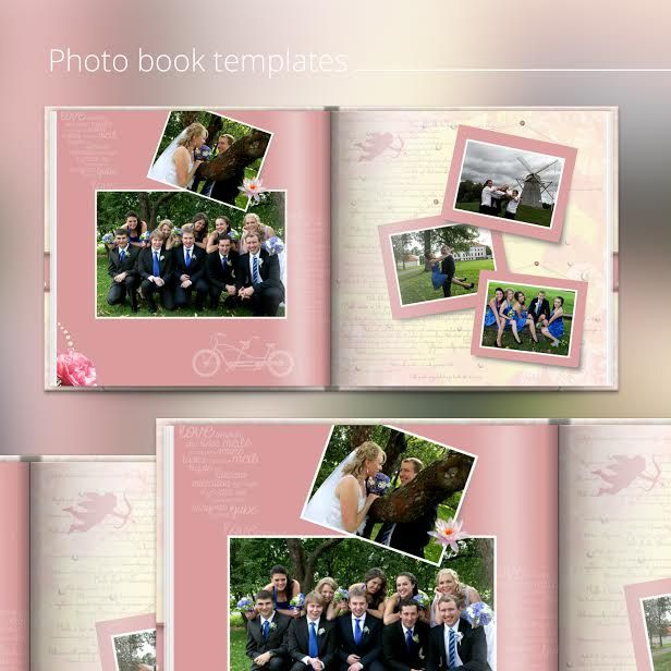 Free photo book templates Wedding, graduation, birthday, etc - Free Album Templates