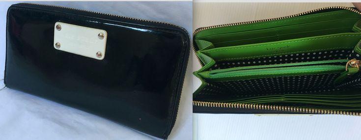 Leather Zip Around Wallet - Snow flake by VIDA VIDA 3u3gDyMH3j