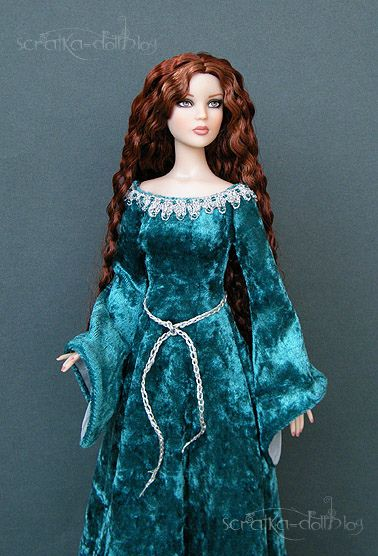 Tonner barbie- this is honestly the prettiest barbie I have ever seen.