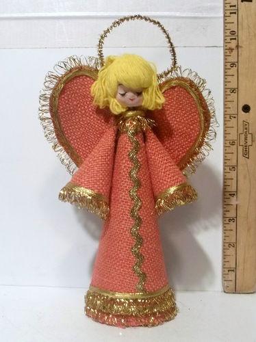 Vintage Christmas Angel Tree Topper Very Cute | eBay