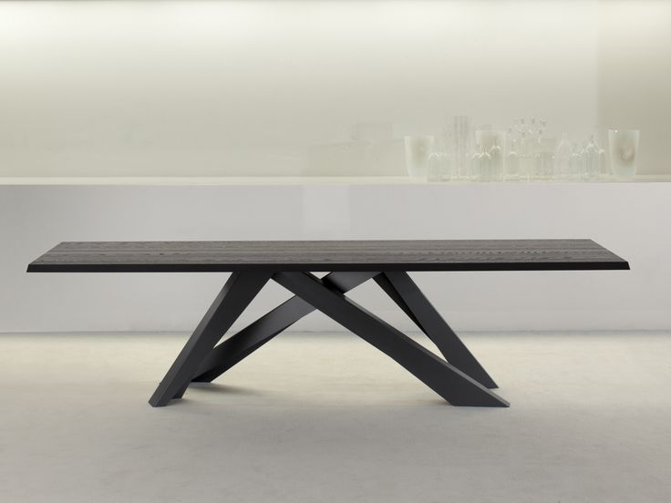 RECHTECKIGER TISCH BIG TABLE BY BONALDO | DESIGN ALAIN GILLES