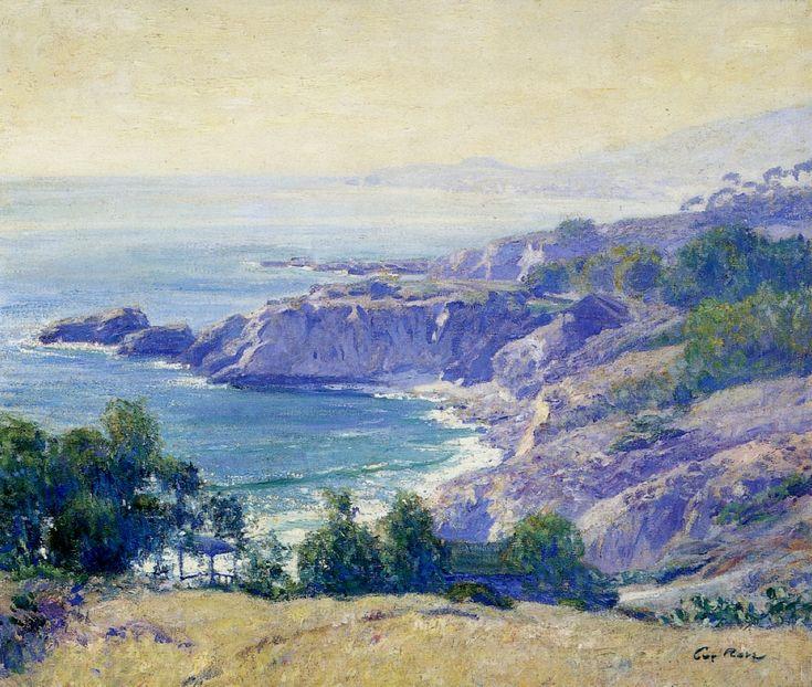 Guy Rose, Laguna Coast, 1900-10 oil on canvas; 60.96 x 73.66 cm Private Collection: American, Art, Roses, Laguna Coast, Guys