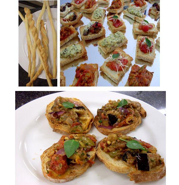 Antepastos e bruschettas - cardápio italiano More