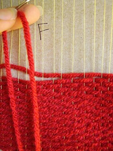 Pagina de tejido Telar de Cartón | revesderecho.com | ¿tejes? nosotras también