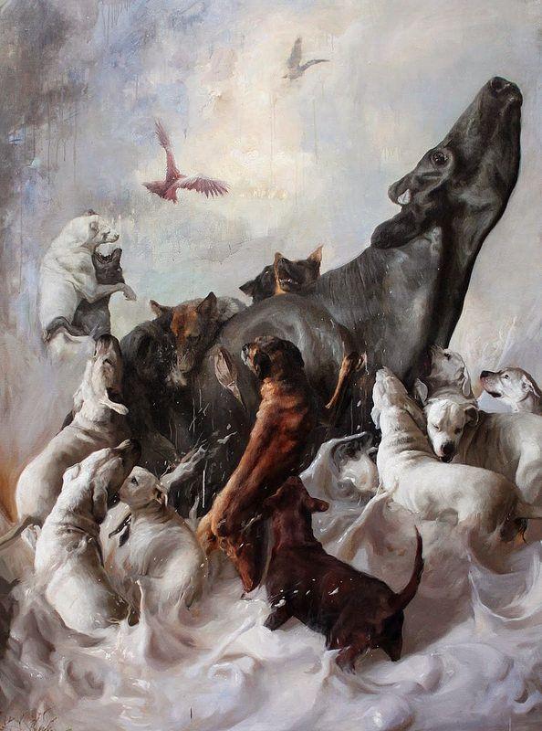 GUILLERMO LORCA http://www.widewalls.ch/artist/guillermo-lorca/ #figurativeart #fineart #magicrealism #painting
