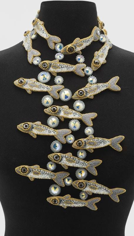 If I could have just ONE piece of jewelry...  New School, Kinga Nichols, fish necklace