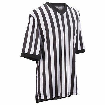 Women 158966: Adams Usa Smitty Performance Mesh Standard V-Neck Referee Shirt Black/White, -> BUY IT NOW ONLY: $36.52 on eBay!
