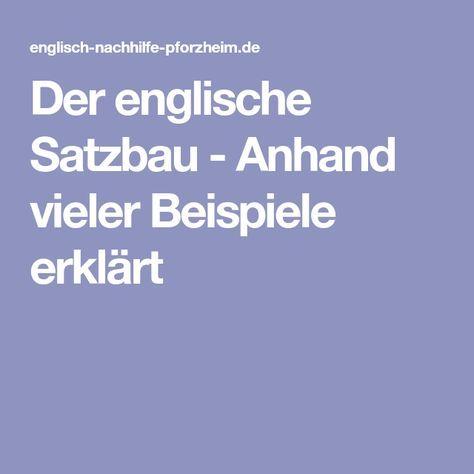 Probleme mit dem englischen Satzbau? – Sabine 23 Sabine