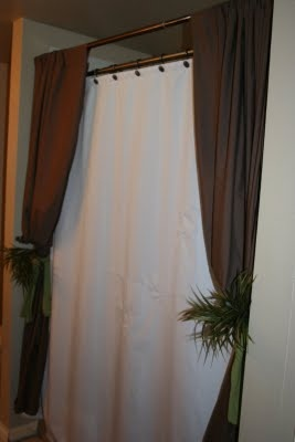 Double Shower Curtain Ideas And More On Diy Tasks I With