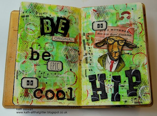 Kath's Blog......diary of the everyday life of a crafter: Simon Says...Hip Hop