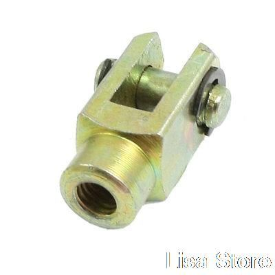 M6 Female 6mm Dia Lock Pin Metal Cylinder Mounting Piston Rod Clevis Joint #watches, #belts, #fashion, #style, #sport