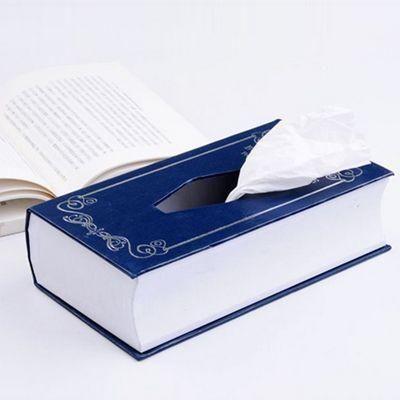 Świetna książka z wnętrzem, w którym możesz ukryć swoje chusteczki! :)