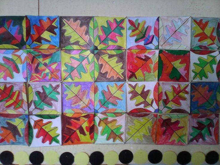 2.a Őszi mozaik.