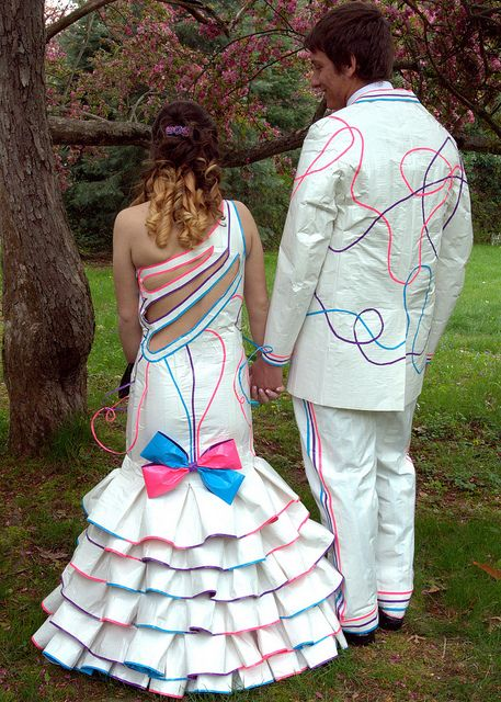 17 Best images about Duct Tape Dresses on Pinterest | Prom ...  Duct