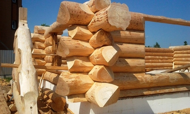 ( LogFrog.ru ) Наши работы | Строительство бревенчатых домов